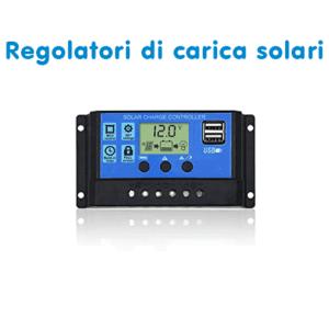 Regolatori di Carica solari